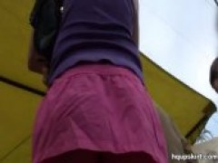 charming Upskirt Of Real girls Only