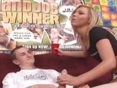 young bitch Ally Kay Hand Job Winner
