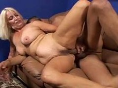 gigantic Boobie granny Vikki Vaughn enjoys huge meat sex