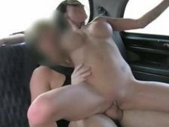 cute Chantelle gets fucked in the cab
