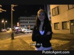 PublicAgent - Hot film extra gets sexed
