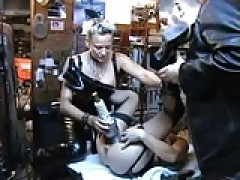 sleazy french bdsm scene