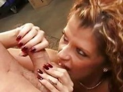 Saucy whore Joslyn James is hungry for cock