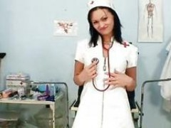 charming Nurse Pavlina Put A Medical