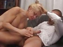 Italian blonde Mother