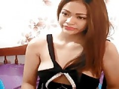 chinese barbie playing on cam