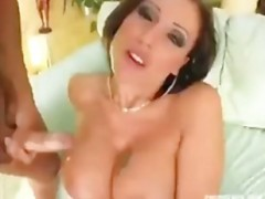 The Cumshot on boobs compilation