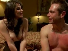 Bobbi Starr Gives male Torture And moth Sitting in Pegging girl domination vid