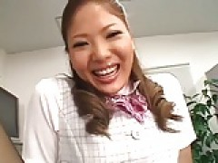 Pantyhose Sex - Japanese Office broad gets screwed