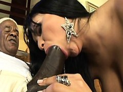 Brazilian chick Gets ebony dick