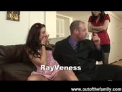 MILF Rayveness and teenie Daughter naughty Th .