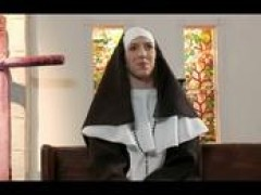 nun's prayers for holy penis answered by gangbang