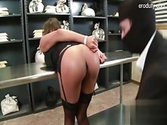 pretty gf sex in public