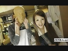 Subtitled Japanese traditional di.