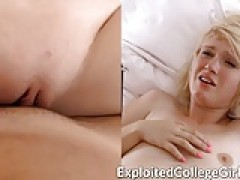 yellow-haired College bitches Creampie