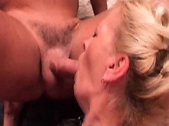 Hot old slut Is Getting Penetrated By 2 dicks
